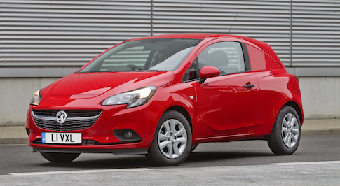 All-new Vauxhall Corsavan heads to showrooms
