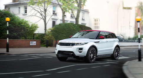 Range Rover Evoque NW8 pays tribute to Abbey Road studios