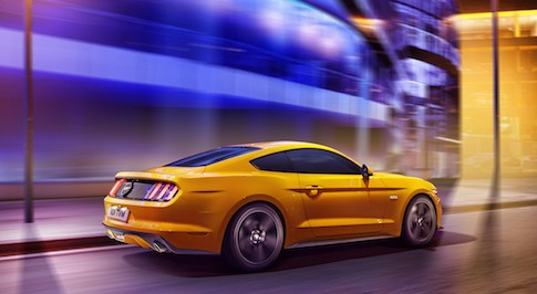 UK buyers can order Ford's new Mustang for the first time in history