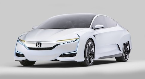 Honda FCZ Concept unveiled in Detroit