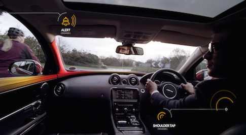 Jaguar Land Rover reveals new 'Bike Sense' research technology