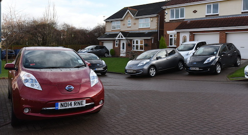 Nissan Leaf My Electric Avenue exceeds targets