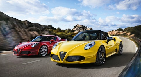 Alfa Romeo introduces the all-new 4C Spider