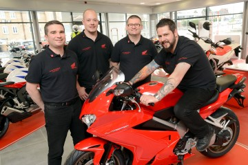 Vertu Honda Bikes opens Nottingham dealership