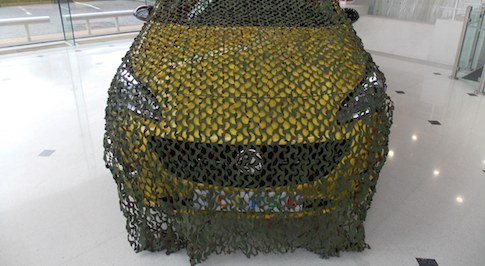 Vauxhall launches the 'Corsa Camo-net'