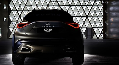 Infiniti to unveil QX30 crossover Concept in Geneva