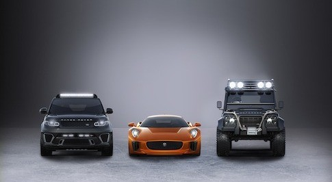 Jaguar Land Rover gears up for next James Bond adventure