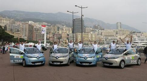 Renault ZOE scores high at the ZENN Monte-Carlo Rally