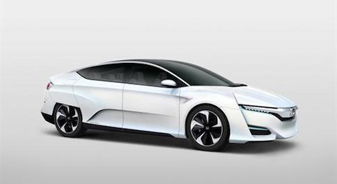 Honda reveals its new FCV fuel-cell vehicle