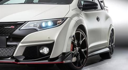 Production Civic Type R revealed at Geneva Motor Show
