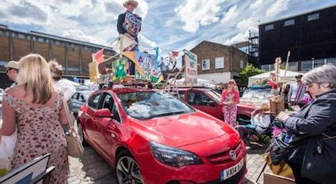 The Vauxhall Art Car Boot Fair returns this summer