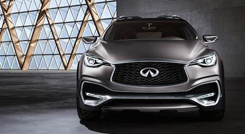 Infiniti QX30 makes its debut in Geneva