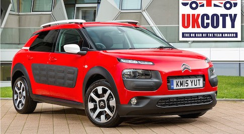 Citro�n's C4 Cactus named 'Small Hatchback of the Year'