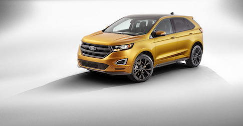 Ford reveals the new Edge Sport to extend European line-up