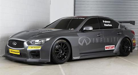 'Support Our Paras Racing' team unveils BTCC Q50 race cars