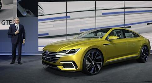 Volkswagen presents new car line-up for 2015