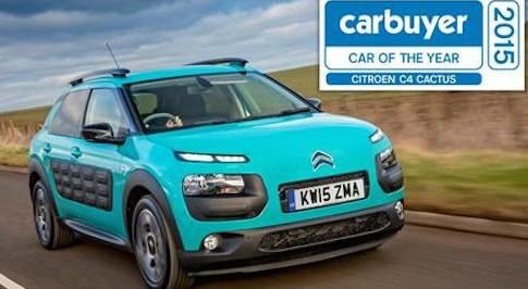 Citro�n's C4 Cactus named 'Car of the Year'