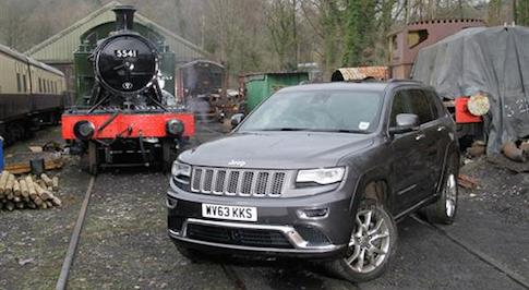 Jeep's Grand Cherokee score top UK Sponsorship award