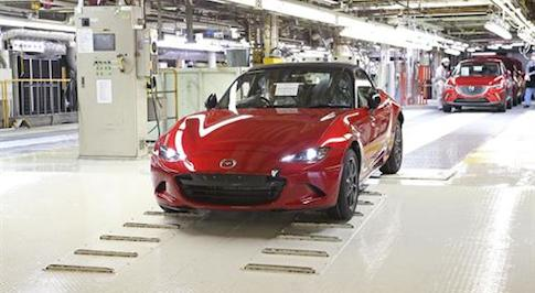 Pre-order books open for the next-generation MX-5