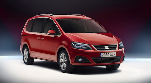 New Seat Alhambra boasts greater full efficiency from improved engines
