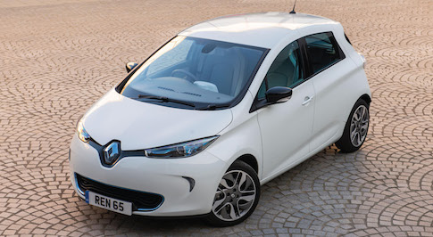 Renault Zoe scores best EV in Driver Power survey
