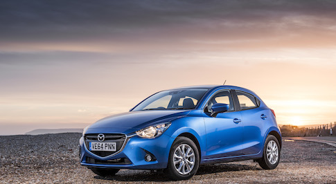 The new Mazda2 wins Car of the Year title in the 2015 Car Dealer Power Awards