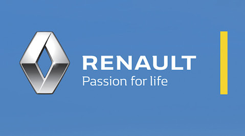 Renault releases new brand signature 'RENAULT  Passion for life'