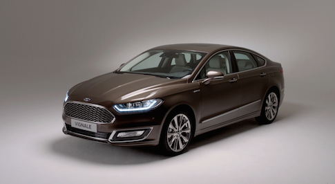 Production-ready Ford Vignale Mondeo launches new premium range