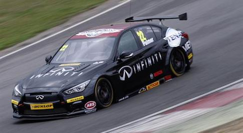 Infiniti Support Our Paras makes BTCC debut at Brands Hatch