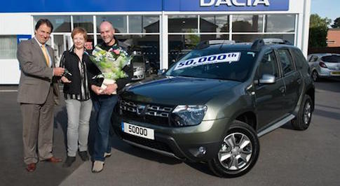 Dacia reaches 50,000 UK sales with Sandero Stepway