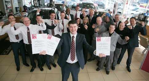 Darlington Bristol Street Motors Dealership Make it Three in a Row with Customer Service Award