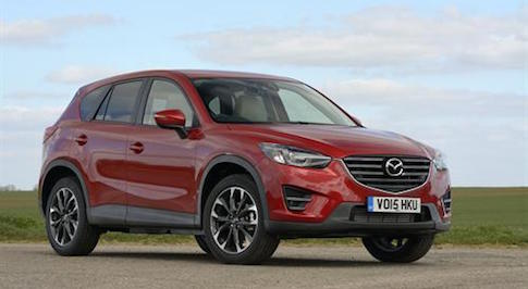 The One-millionth Mazda CX-5 rolls off the production line
