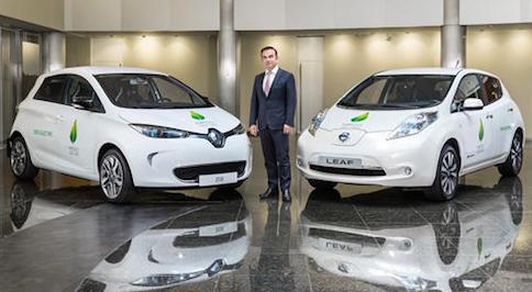 Renault-Nissan to provide fleet of fully electric vehicles at COP21
