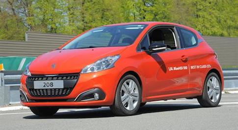 Peugeot 208 sets new long-distance fuel consumption record