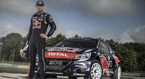 Andrew Jordan joins Team Peugeot-Hansen for FIA World Rallycross Championship