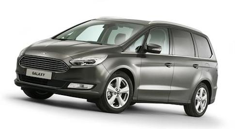 Ford Galaxy now available with AWD