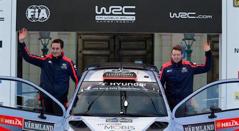 Hyundai Motorsport adds fourth car to WRC events