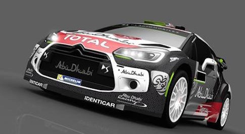 DS3 WRC car sports new racing livery at Rally de Portugal