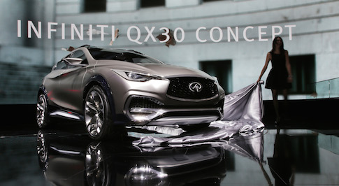 Infiniti sets new April sales record