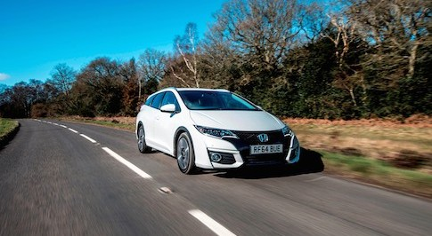 Honda Civic Tourer claims best real world MPG