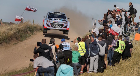Hyundai's quadruple effort at the Polish WRC