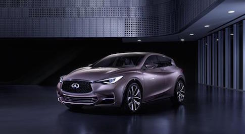 Infiniti Q30 to make debut at Frankfurt IAA 2015