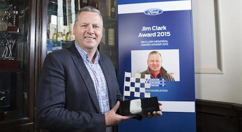 Ford's 2015 Jim Clark Award honours unsung hero of Scottish motorsport