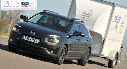 Citroen C4 Cactus wins ultralight tow car award 2015