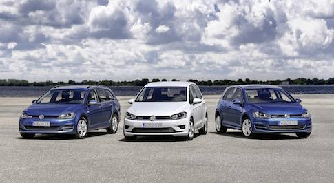 Volkswagen Golf line-up now available to order with new efficient petrol engine
