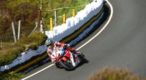 Honda Racing's John McGuinness takes fourth in Isle of Man TT superbike race