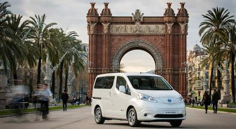 New seven-seat e-NV200 to go on sale in July