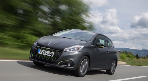 Updated Peugeot 208 available to order now on '65-plate'