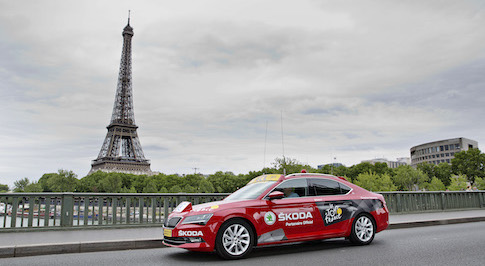 SKODA becomes official sponsor and vehicle partner of Tour de France 2015