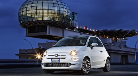 Fiat introduces the all-new 500